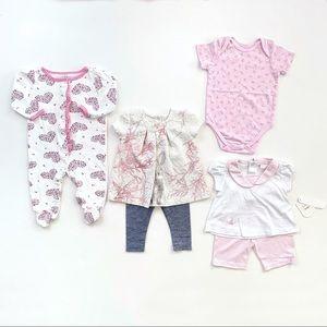 Baby Girl Bundle Lot Spring Summer